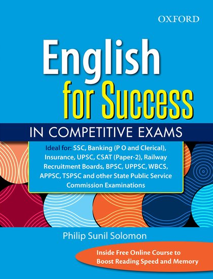 English for Success in Competitive Exams